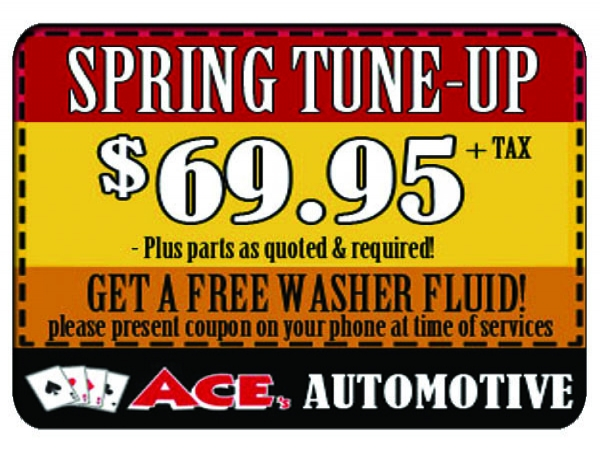 $69.95 GIFT CARD Ace's Tune-Up