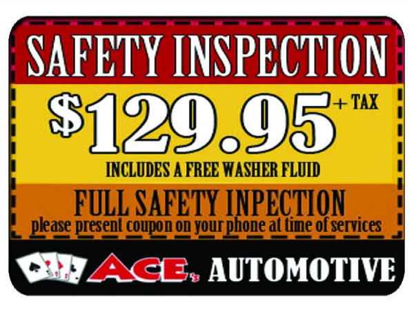 129.95 Gift - Ace's Safety Inspection