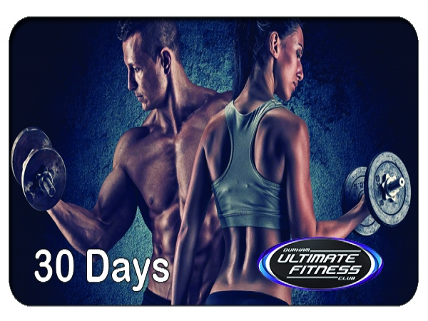 1 Mo. Ultimate Fitness Clubs with All Classes $60 Dollar Value