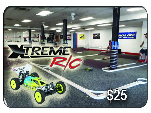 Xtreme RC Indoor Racing Track $25 Gift Card