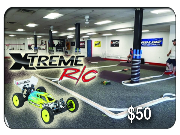 Xtreme RC Indoor Racing Track $50 Gift Card