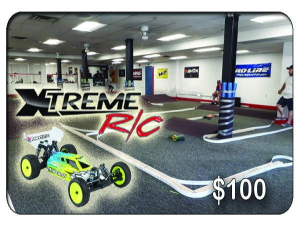 Xtreme RC Indoor Racing Track $100 Gift Card