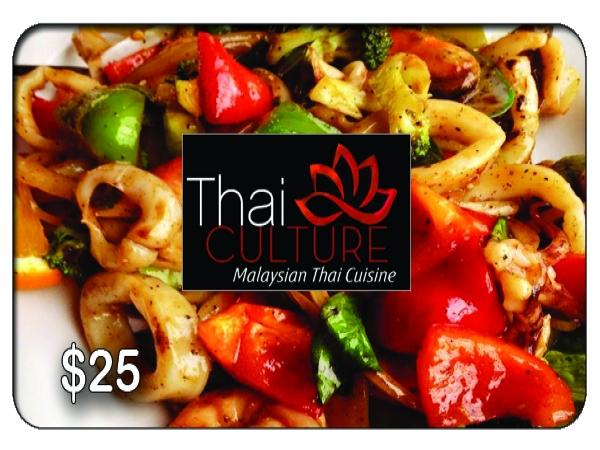 Thai Culture $25 Gift Card