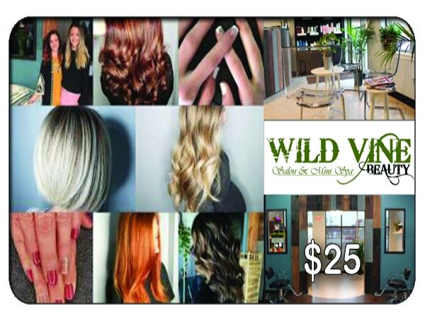$25 at Wild Vine Beauty Hair & Salon