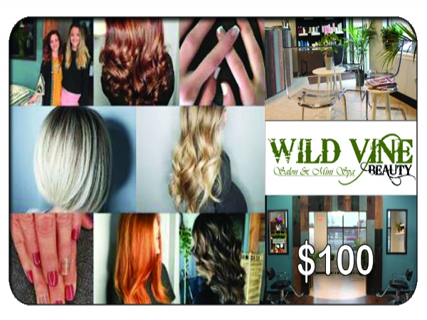 $100 at Wild Vine Beauty Hair & Salon