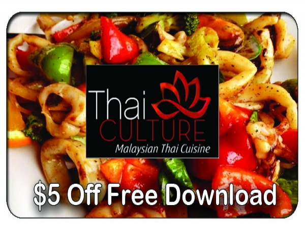 $5 Off at Thai Culture