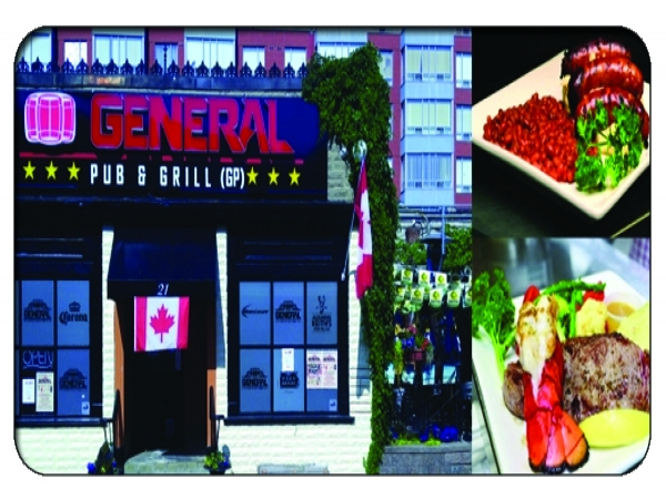 General Pub & Grill - $5 FREE DOWNLOAD or 25% OFF