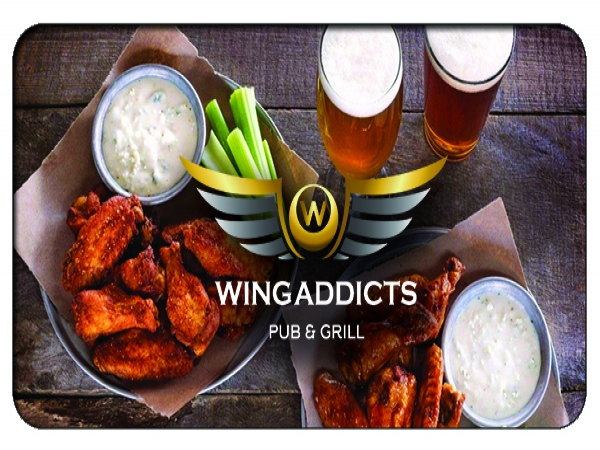 Wing Addicts Pub & Eatery - $5 Free Download or 25 % Off