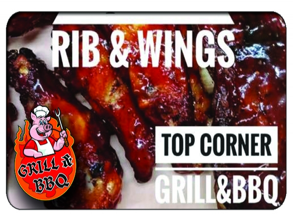 Top Corner BBQ Grill - $5 FREE DOWNLOAD or 25% OFF