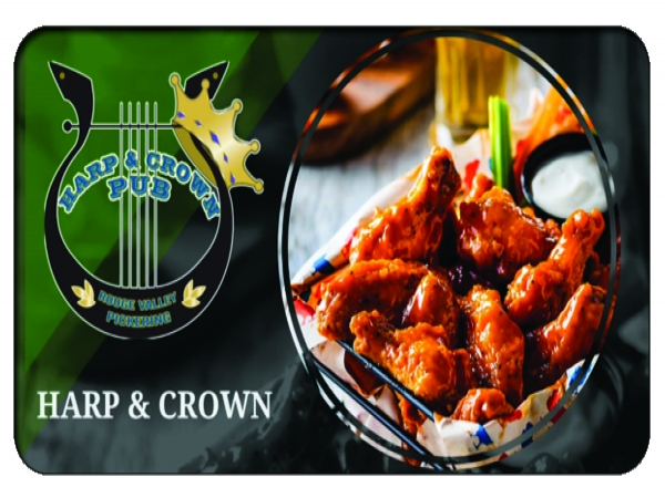 Harp and Crown $5 Free Download or $25% Off